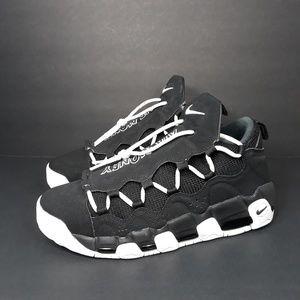 Nike Air More Money Black White Sz 10.5